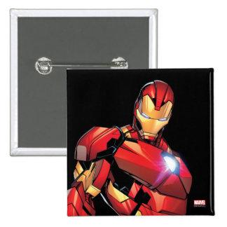 Iron Man Assemble Button