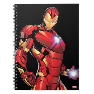 Iron Man Assemble Spiral Notebook