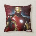 Iron Man Character Art Throw Pillow