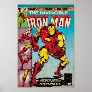 Iron Man Comic #126 Poster