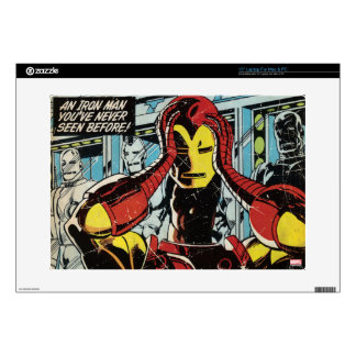 "Iron Man Comic #170 Decal For 15"" Laptop"