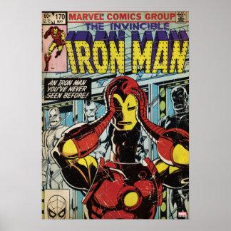Iron Man Comic #170 Poster