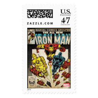 Iron Man Comic #174 Postage