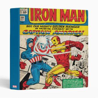 Iron Man Comic #58 3 Ring Binder