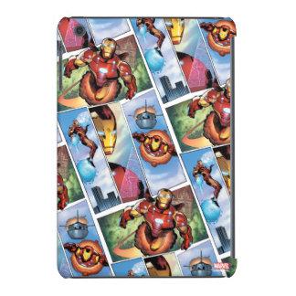 Iron Man Comic Panels iPad Mini Cover