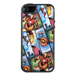 Iron Man Comic Panels OtterBox iPhone 5/5s/SE Case