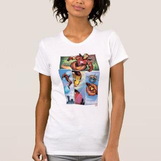 Iron Man Comic Panels T Shirt