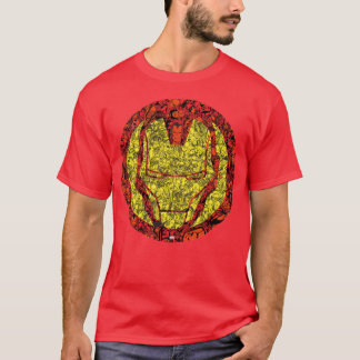 Iron Man Comic Patterned Icon T-Shirt