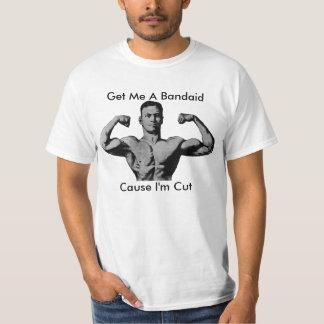 iron man, Get Me A Bandaid, Cause I'm Cut T-Shirt