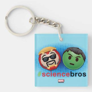 Iron Man & Hulk #sciencebros Emoji Keychain