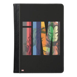 Iron Man iM Character Graphic iPad Air Case