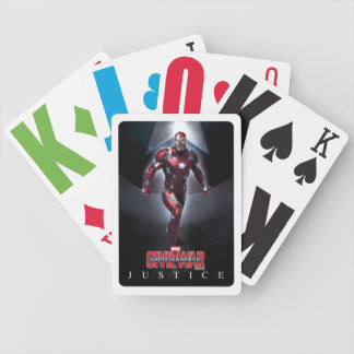Iron Man - Justice Bicycle Playing Cards