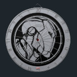 "Iron Man Profile Logo Dart Board<br><div class=""desc"">Iron Man 