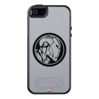 Iron Man Profile Logo OtterBox iPhone 5/5s/SE Case