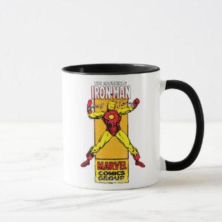 Iron Man Retro Breaking Chains Comic Mug