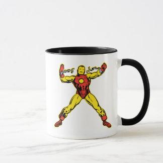 Iron Man Retro Breaking Chains Mug