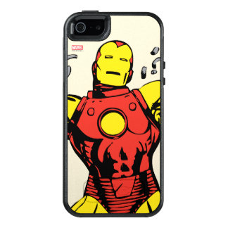 Iron Man Retro Breaking Chains OtterBox iPhone 5/5s/SE Case
