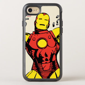 Iron Man Retro Breaking Chains OtterBox Symmetry iPhone 8/7 Case