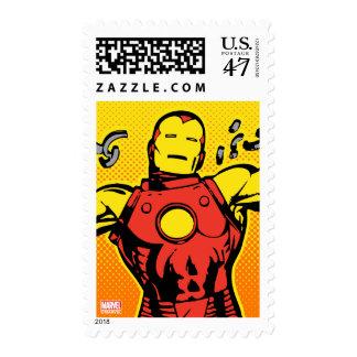 Iron Man Retro Breaking Chains Postage
