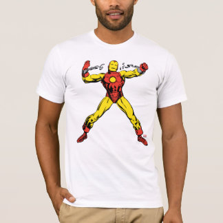 Iron Man Retro Breaking Chains T-Shirt