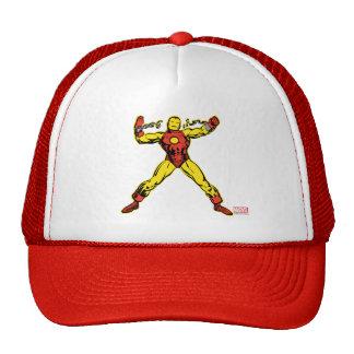 Iron Man Retro Breaking Chains Trucker Hat