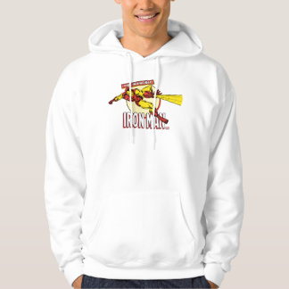 Iron Man Retro Character Graphic Hoodie
