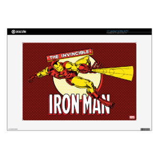 Iron Man Retro Character Graphic Laptop Skins