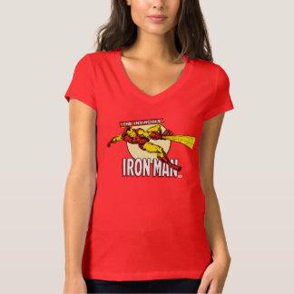 Iron Man Retro Character Graphic T-Shirt