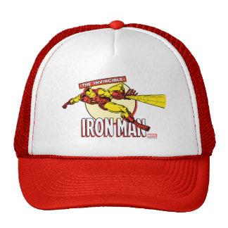 Iron Man Retro Character Graphic Trucker Hat
