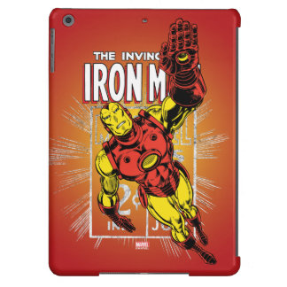 Iron Man Retro Comic Price Graphic Cover For iPad Air