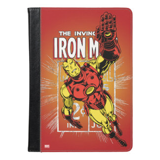 Iron Man Retro Comic Price Graphic iPad Air Case