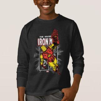 Iron Man Retro Comic Price Graphic T-Shirt