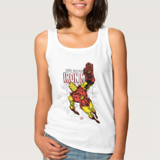 Iron Man Retro Comic Price Graphic Tank Top