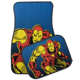 Iron Man Retro Flying Car Floor Mat
