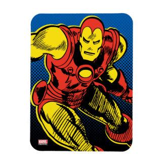Iron Man Retro Flying Magnet