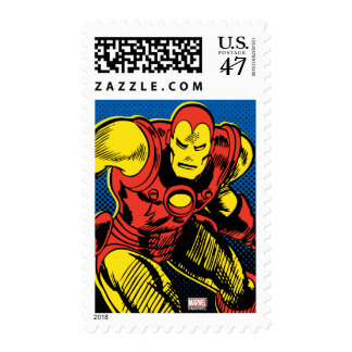 Iron Man Retro Flying Postage