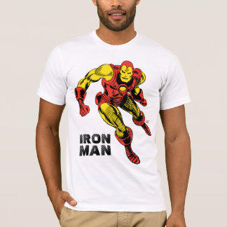 Iron Man Retro Flying T-Shirt