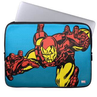 Iron Man Retro Grab Computer Sleeve