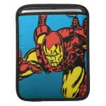 Iron Man Retro Grab iPad Sleeve