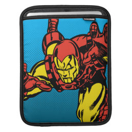 Iron Man Retro Grab iPad Sleeve