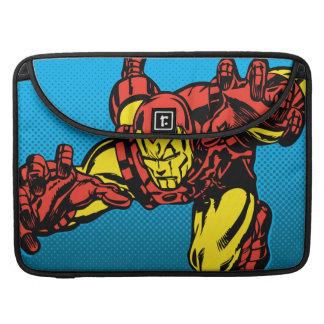 Iron Man Retro Grab MacBook Pro Sleeve