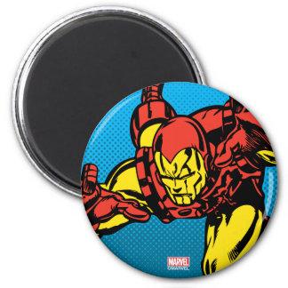 Iron Man Retro Grab Magnet