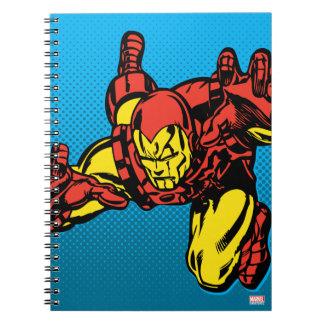 Iron Man Retro Grab Notebook