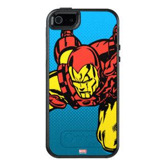 Iron Man Retro Grab OtterBox iPhone 5/5s/SE Case