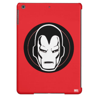 Iron Man Retro Icon Cover For iPad Air