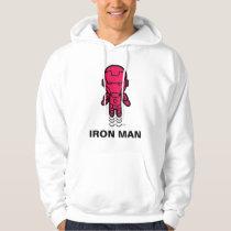 Iron Man Stylized Line Art Hoodie