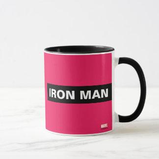 Iron Man Stylized Line Art Mug