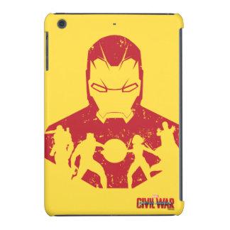 Iron Man Team Silhouettes iPad Mini Case