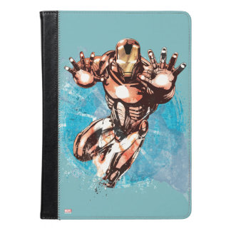 Iron Man Watercolor Character Art iPad Air Case
