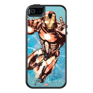 Iron Man Watercolor Character Art OtterBox iPhone 5/5s/SE Case
